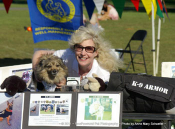 Click to play movie K-9 Armor at Pet Pride Day 2009