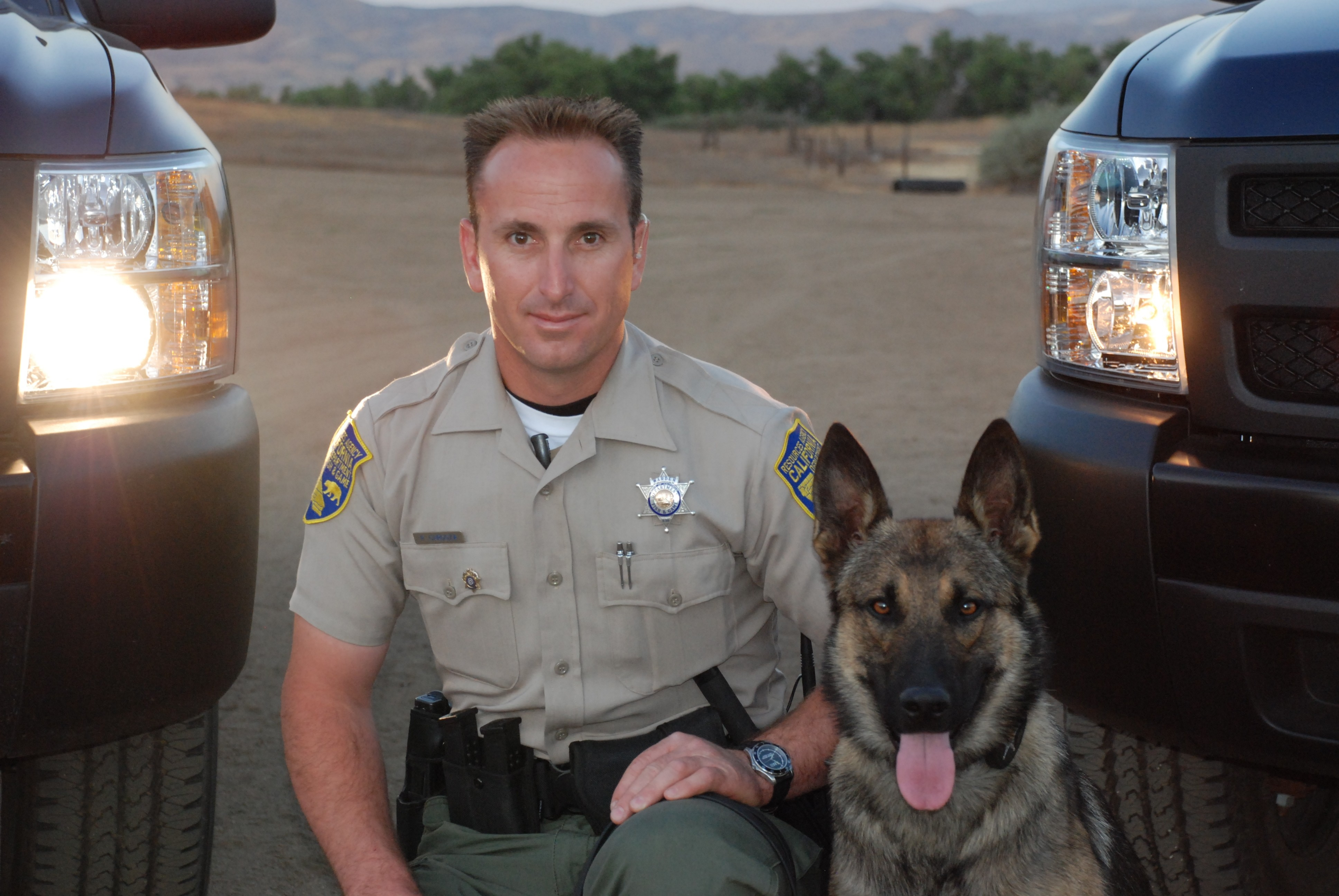 K9 armor accepts donations to give free bulletproof vests for Ca dept of fish and game