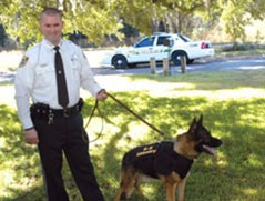 Read article how K9 Kilo saved by his K9 Armor