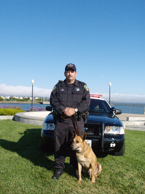 Richmond PD K9 Nero with Officer Jeff Hill