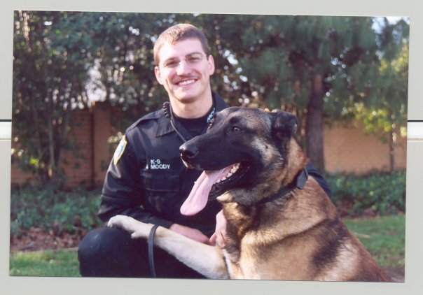 K9 Rico with Officer Brad Moody, Richmond PD