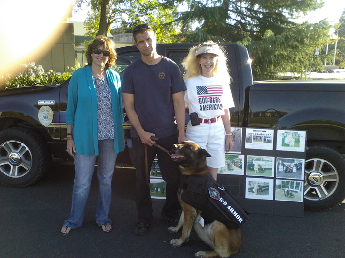 Thank you Carol Dunn for donating to protect Rohnert Park PD K9 Kimo