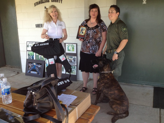 Click to see KCRA video and article K9 Armor for Stanislaus County Sheriff K9 Sam