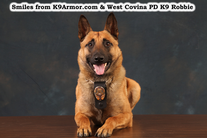 Currently Collecting Cash for West Covina PD K9 Reiko and K9 Rocco